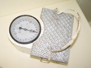 Beautiful Old Bathroom Scale, Physician Scale Antique