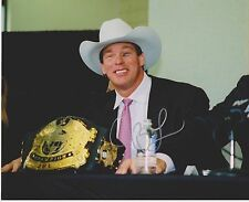 John Bradshaw Layfield JBL Signed WWE Champion 8x10 Photo #4