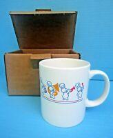 NIP 1991 Corelle Pillsbury Doughboy Poppin' Fresh Marching Band Mug/Cup(s) FSHIP