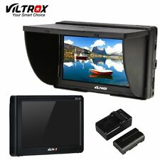 Viltrox DC-50 5'' DSLR TFT field LCD HDMI Camera Video Monitor Battery+Charger