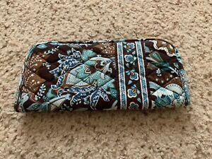 Vera Bradley Authentic Soft Slip-In Eyeglass Case Java Blue