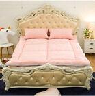 Pink Folding Soft Home Bedding Double Bed Mattress 150CM*200CM #