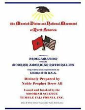 Official Proclamation of Real Moorish American Nationality : Black and White...