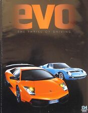 EVO 09/2009 featuring Pagani Zonda R, Lamborghini, Bugatti Vayron, Nissan GT-R