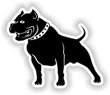 Pit Bull Sticker for Bumper Laptop Luggage Suitcase Tablet Dog #02