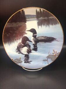 """""""Birds of Distinction"""" New Light, New Life Limited Edition collector plate"""