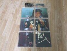 MICHAEL JACKSON  SOUVENIR SINGLES PICTURE DISC WALLET PACK