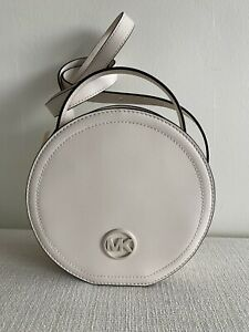 MICHAEL KORS MEDIUM TH CANTEEN LEATHER SHOULDER BAG NEW WITH TAGS