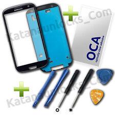 Kit Completo Reparacion Cristal de pantalla Samsung Galaxy S3 i9300 Negro
