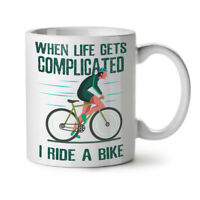 Complicated Life NEW White Tea Coffee Mug 11 oz | Wellcoda