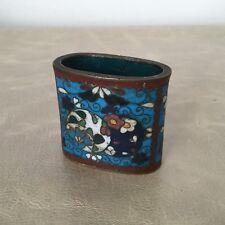 Petit Pot Ancien EMAUX CLOISONNE Chine Chinese Antique Pot Enamel