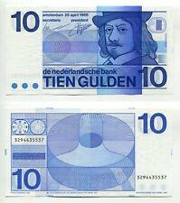 10 Gulden Niederlande 25.4.1968   unc, Pick 91b