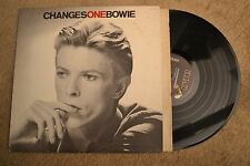David Bowie Changes Rock Record lp NM