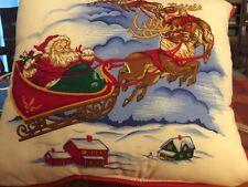 Vintage Set Of 4 Christmas Pillows