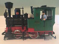 Lehmann West Germany LGB 2 #2020 Railroad Steam Locomotive Engine Train G Scale