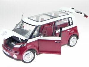 VW Bulli Studie rojo coche en miniatura Norev 1:18