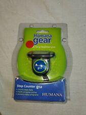 Humana Gear (NIP) Step Counter g1.0 Pedometer Daily Tracks Progress Walk Run Jog