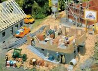 Faller 130307 HO Gauge House Under Construction Kit