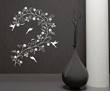 Wall Decal Branch Flowers Birds Room Decoration Art Vinyl Stickers (ig2865)