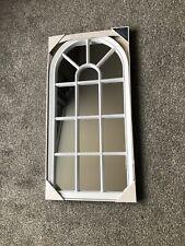 WINDOW STYLE ARCH SOHO  MIRROR  69cm X 34cm. Brand New In Box.