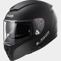 LS2 CASCO ROAD TOURING BREAKER FF390 KPA SOLID MATT BLACK FULL FACE