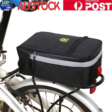 Multi Function Waterproof Bicycle Bag Bike Rear Seat Carrier Basket Rack Pannier