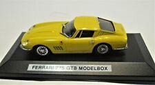 Modelbox/Revell 1:43 Ferrari 275 GTB Spyder Yellow