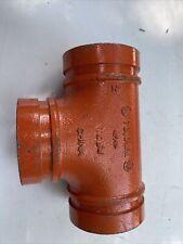 Gruvlok Tee Pipe 2 12 St1 Spf 02 730mm Barn Lt