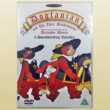 Dogtanian and The Three Muskehounds DVD 5 Episodes - Very Good Condition