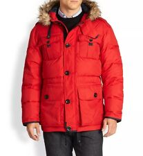 RALPH LAUREN POLO PARKA JACKET COAT MENS HIMAL DOWN PARKA RED LARGE RRP £595