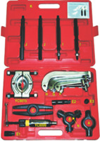 Hydraulic Gear Puller Kit T&E Tools YC709