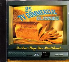 25 TV COMMERCIAL CLASSICS: The Best Thing Since Sliced Bread (1994, CD) RARE/OOP