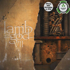 Lamb of God-VII: tempesta ed entrò - 2lp-Clear Vinyl Ltd. ed. - Nuovo/Scatola Originale