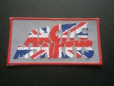 PUNK ROCK HEAVY METAL MUSIC SEW / IRON ON PATCH:- ARCTIC MONKEYS (a) UNION JACK