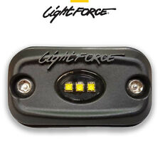 Lightforce LED ROK9 Flood Work Light 9W (3x3W) 5000K CBROK9 Reverse Lamp