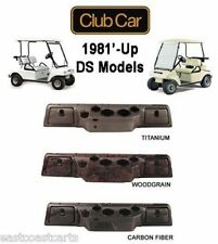 Club Car DS Golf Cart Dash Cover w/Locking Glove Boxes