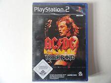 Ac/DC Live Rock Band (ps2), nuevo embalaje original alemán ***