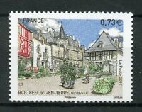 France 2017 MNH Rochefort-en-Terre 1v Set Architecture Tourism Landscapes Stamps