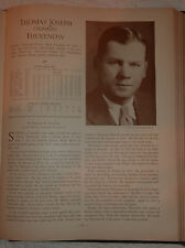 1933 Who's Who Major League Baseball Tommy Thevenow Tommy Thomas INDIVIDUAL PAGE