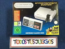 NINTENDO ENTERTAINMENT SYSTEM NUEVA PRECINTADO NES MINI NES SNES SEGA DESCATALOG