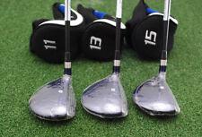 Bullet Golf .444 Fairway High Launch 11&13&15 Wood 3pc SET Mens - NEW
