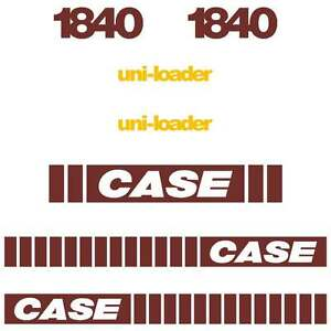 Case 1840 Decals Early SERIES Case Decals Case Stickers Kit Repro Set