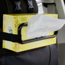 Car Sun Visor Tissue Box Cover Paper Napkin Seat Back Clip Bracket Auto Accessor