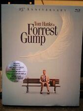 Forrest Gump Blu-Ray 25Th Anniversary 2 disc Blu-Ray Tom Hanks + digital Sealed