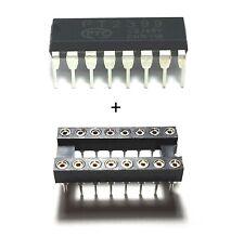 20PCS PTC PT2399 + Sockets - Echo Audio Processor Guitar IC DIP-16 - New IC