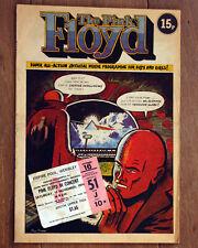 More details for pink floyd winter tour program with ticket 16 november 1974