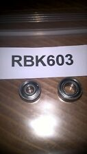 OKUMA HELIOS CENTREPIN REEL, ST/ST CERAMIC UPGRADE REEL BEARING KIT. (RBK603).