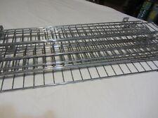 Gondola Shelf Wire Fence 3 H X 48 L Lozier Handy Chrome Finish 12 Pieces