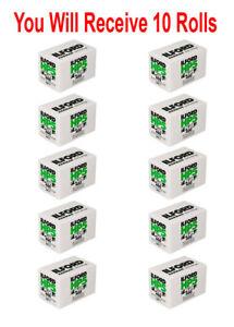 10 Rolls Ilford HP5 135-36 Film Plus 400 35mm Black & White Professional 4/2022