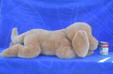 "Gund JUMBO X Large life sized Golden Retriever Puppy Dog ""FETCHIT"" 32"" long"